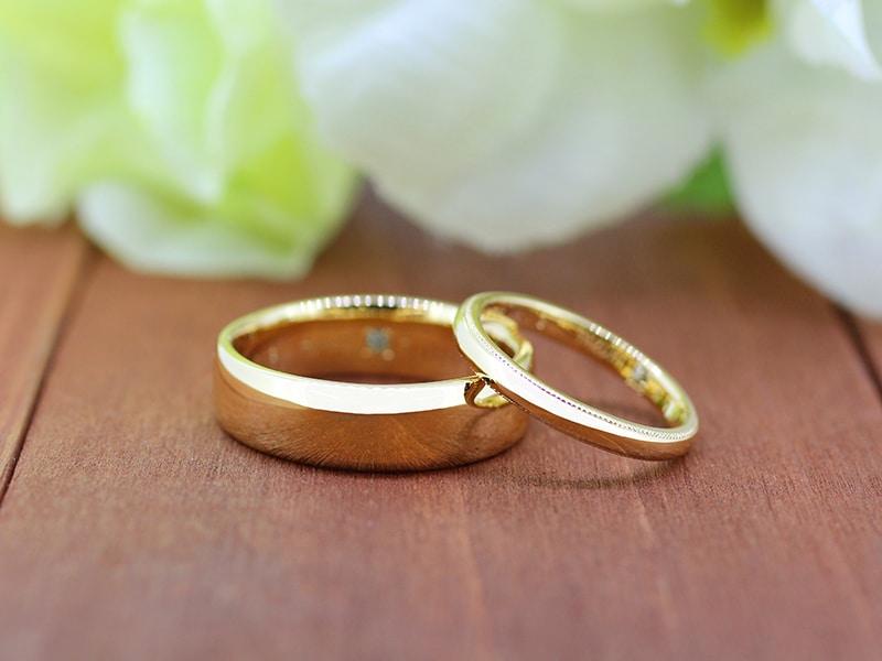 手作り結婚指輪かたちの人気