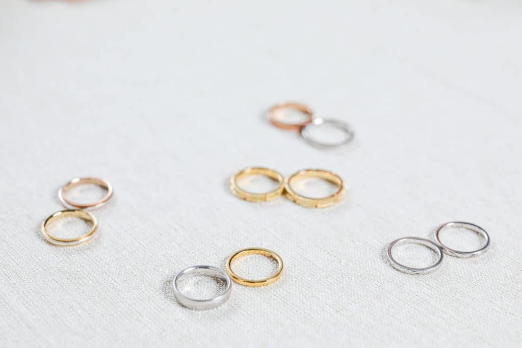 結婚指輪いろいろな種類