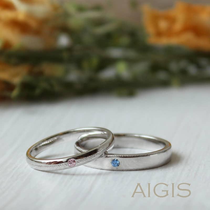 ストレートミルの手作り結婚指輪