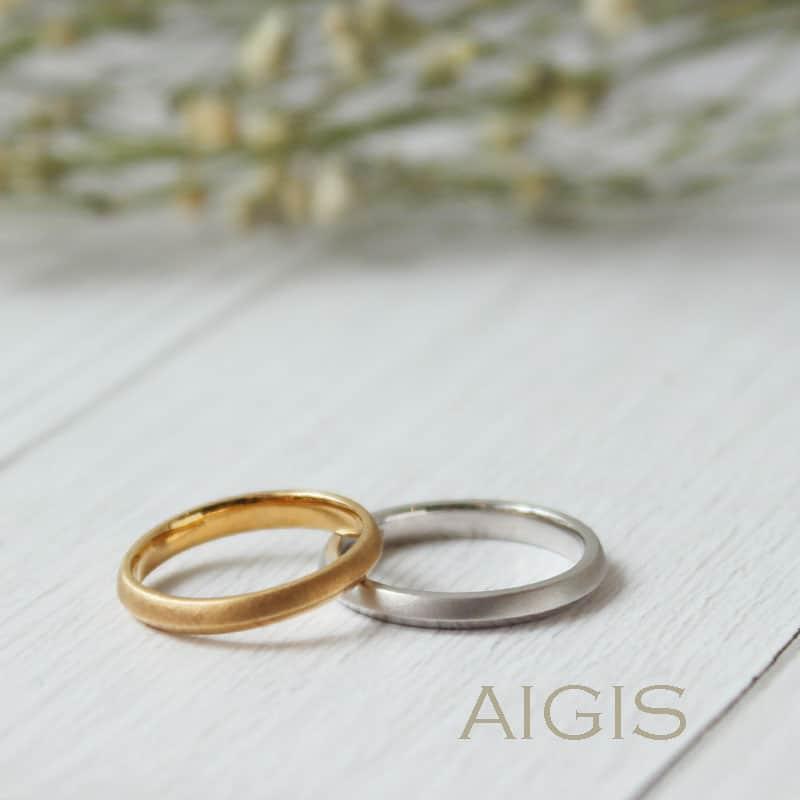 手作り結婚指輪サンプル
